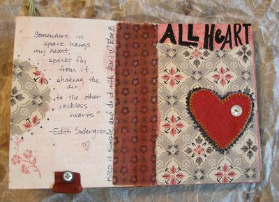 Kim's book - elise's page 1
