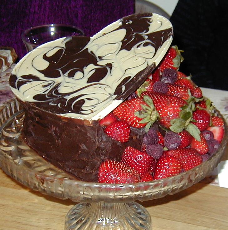 Paula's Heart cake -2001