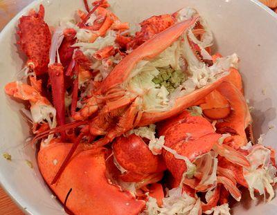 Birthday lobster at Rob's