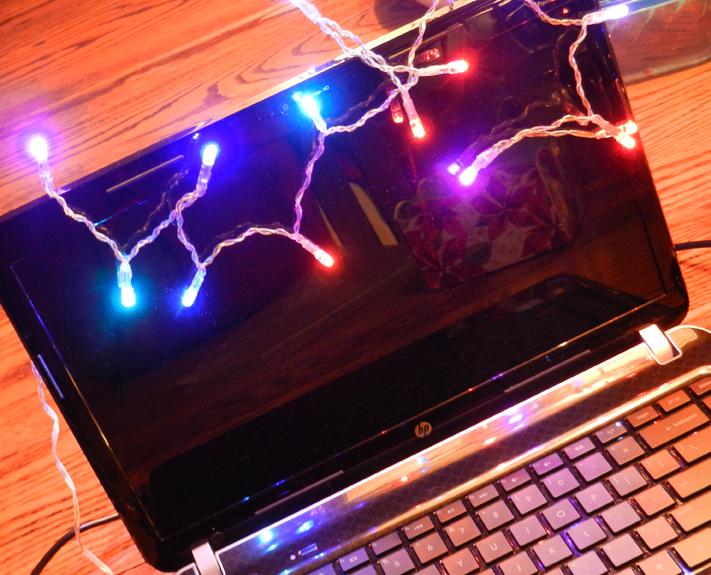 Laptop lights
