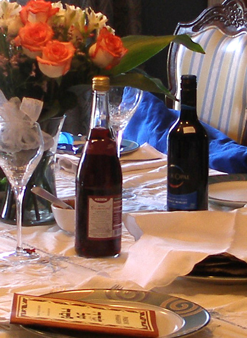 Our Passover Table