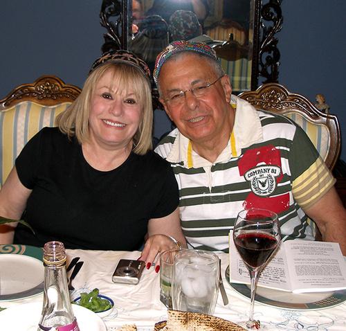 Allan & Roberta - my machatonim...