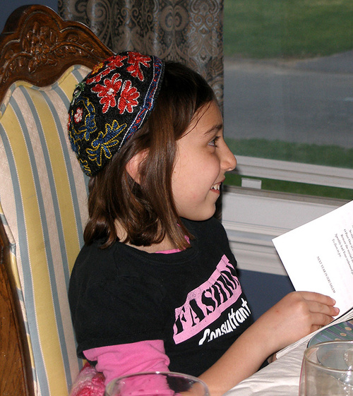 Hannah after reading the last prayer...